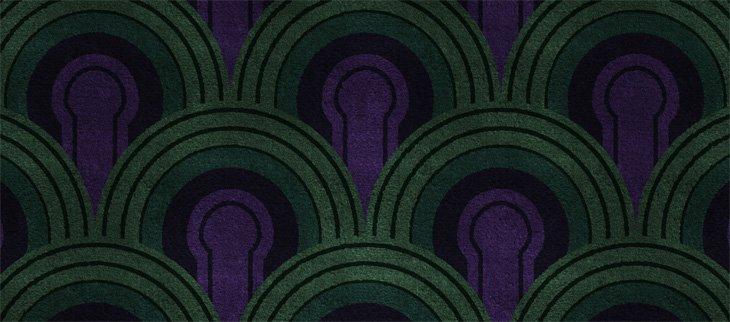 Room 237 carpet