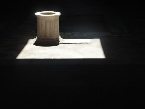 Un puits à Pompei