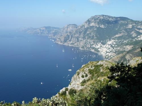 Le Sentier des Dieux entre Amalfi et Positano