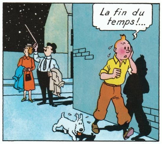 Fin du Temps Tintin